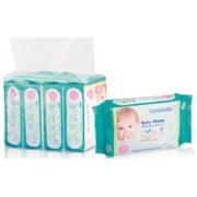 Babisil  - 嬰兒濕紙巾25*4 (手口合用)