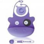 Babisil - Silicone Bib (Purple)