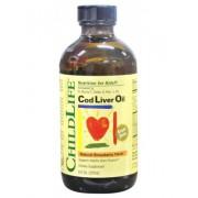 Child Life - 嬰幼兒DHA+ADE 鱈魚肝油 (草莓味) 237ml