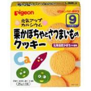 Pigeon 9個月起嬰兒餅乾(北海道南瓜蕃薯曲奇)25g x 2包