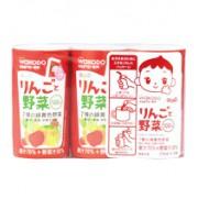 和光堂 - 飲品蘋果什菜果汁 125mlx3支 (7月)