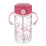 Richell - 嬰兒吸管式飲水杯(粉紅色)320ml