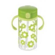 Richell - 嬰兒吸管式飲水杯(綠色)320ml